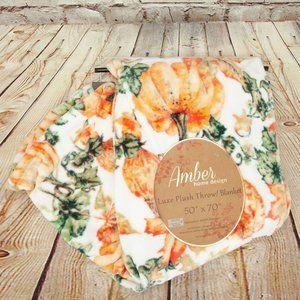 Amber Autumn Home Design Luxe Plush Throw Blanket